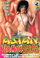 Asian She-Male Gangbang